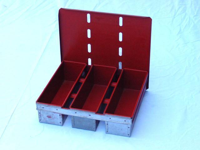Molde Pan Ingles Bateria De Tres Moldes Equipamientos Pasteleria