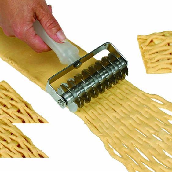 Rodillo hacer rombos en la masa equipamientos pasteleria - Rodillo para lacar ...