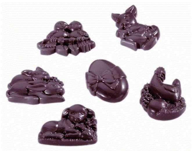 MOLDE  BOMBONES CHOCOLATE WORLD REF. 421405