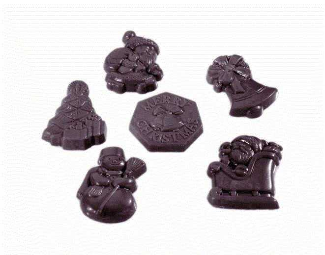 MOLDE  BOMBONES CHOCOLATE WORLD REF. 421406