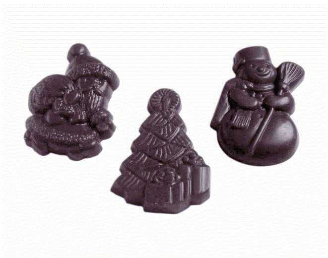 MOLDE  BOMBONES CHOCOLATE WORLD REF. 421435