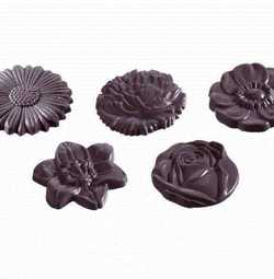MOLDE  BOMBONES CHOCOLATE WORLD REF. 421048
