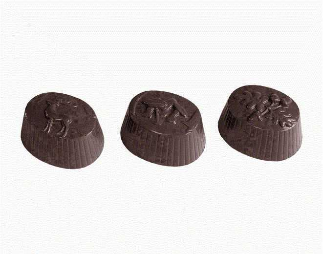 MOLDE  BOMBONES CHOCOLATE WORLD REF. 421507