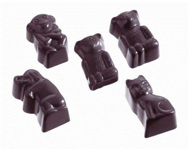 MOLDE  BOMBONES CHOCOLATE WORLD REF. 421109