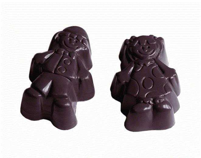 MOLDE  BOMBONES CHOCOLATE WORLD REF. 421514